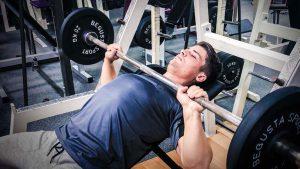 Oldschool Gym, Gewichtstraining