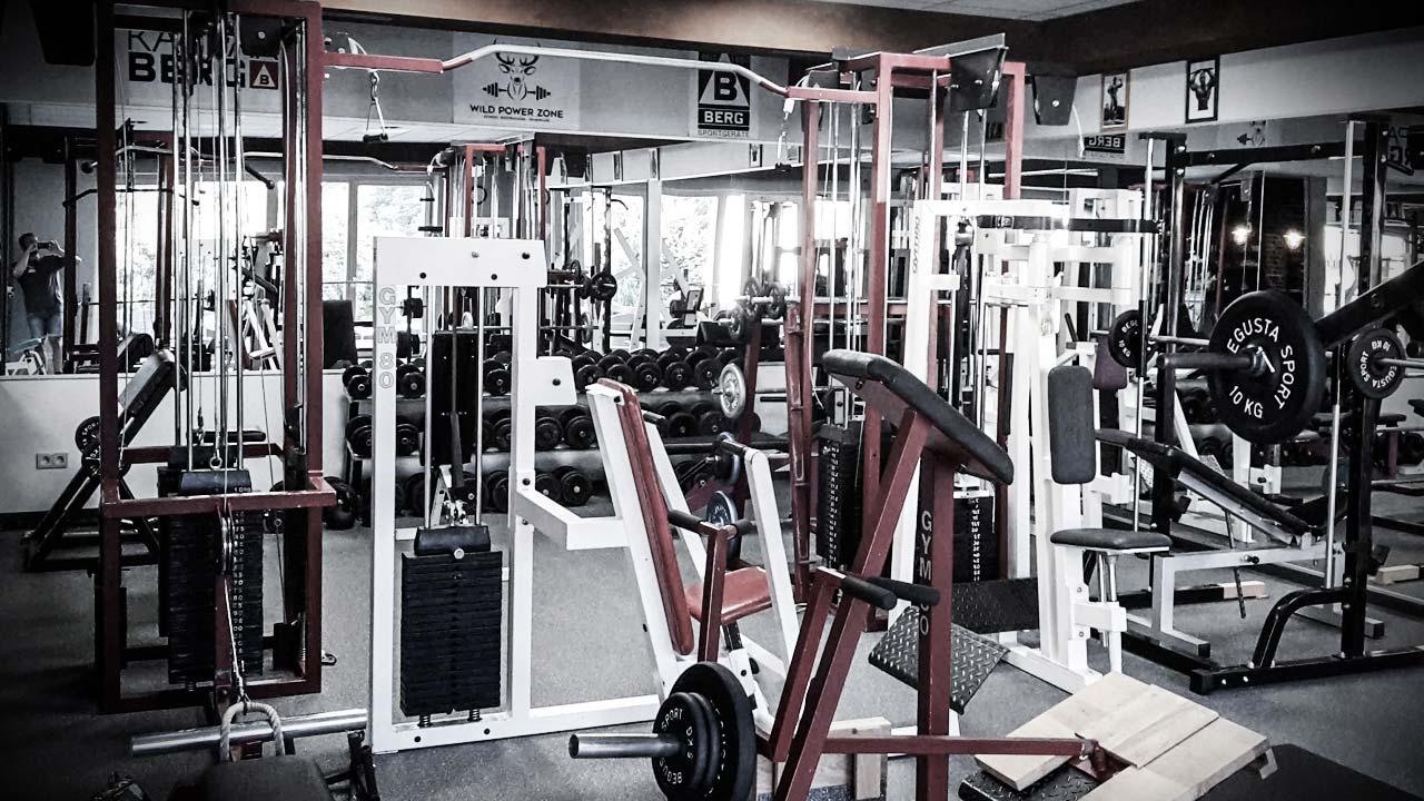 Sei stolz auf dein Gym